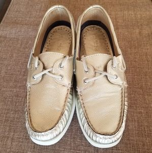 Gold Sperry Top-Siders